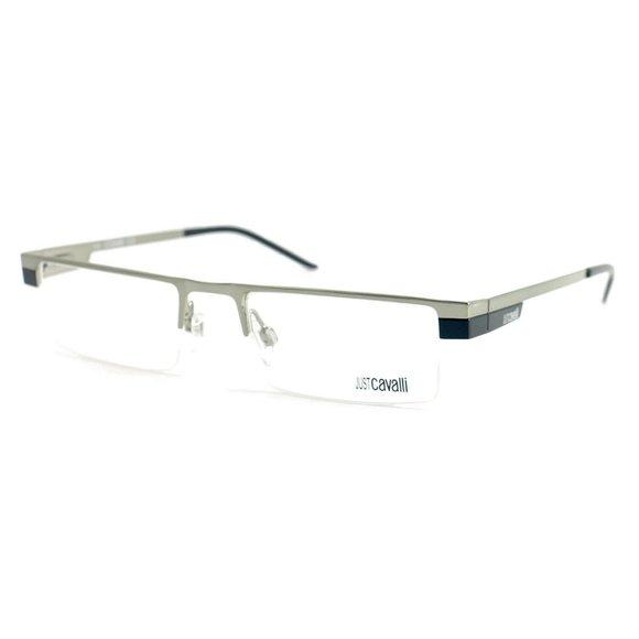 Just Cavalli Rectangle Unisex Silver Metal Frame